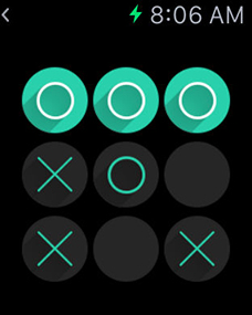 OXO - screenshot